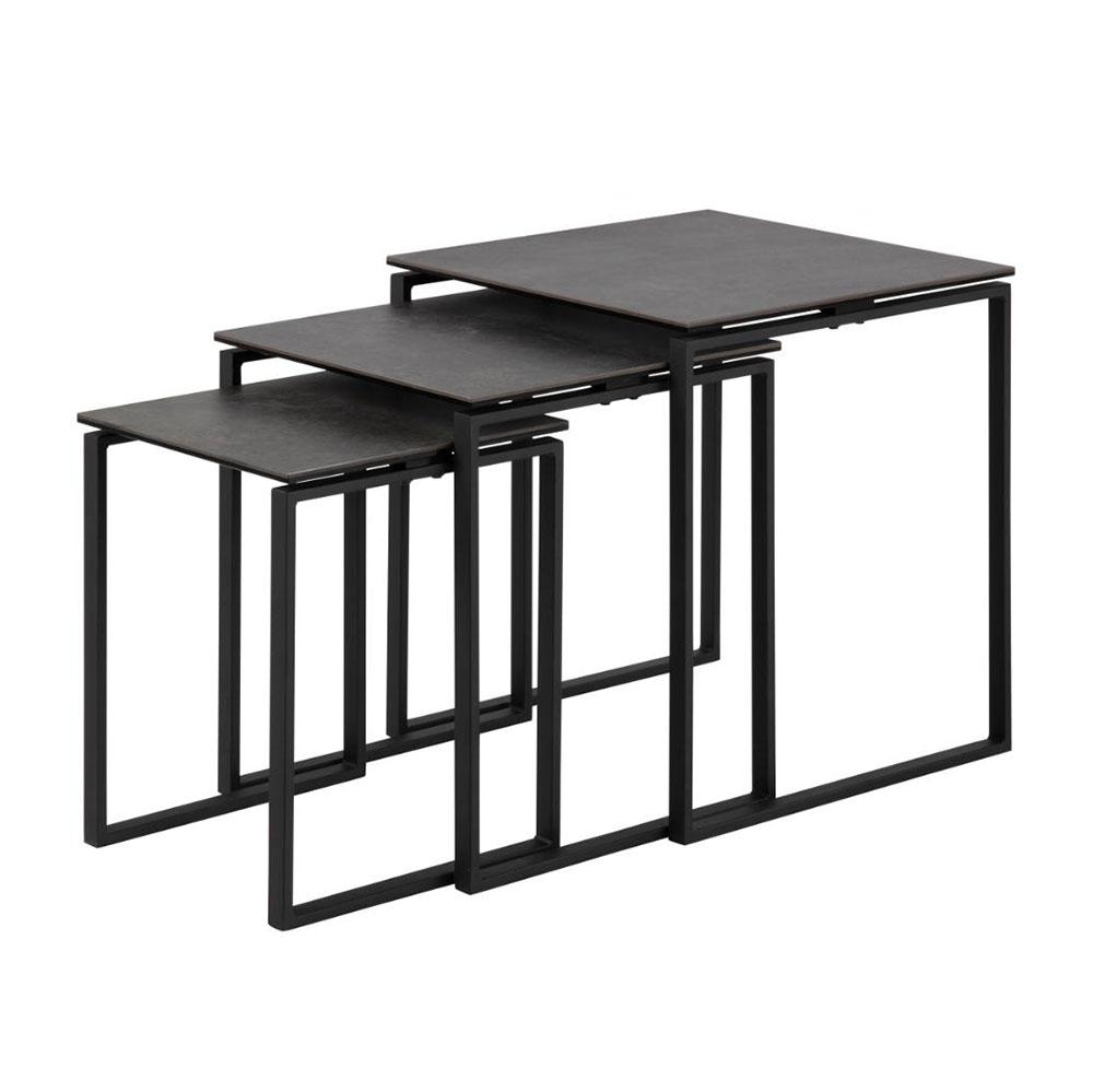 Katrine Nest of Tables - Black