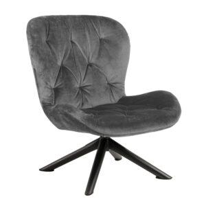 Bronte Lounge Chair - Dark Grey