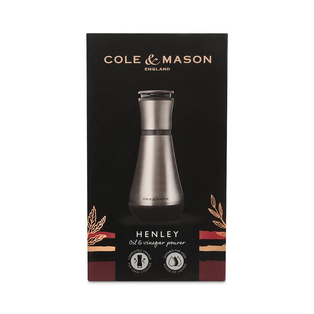 Cole & Mason H221917 Oil & Vinegar Pourer, Stainless Steel