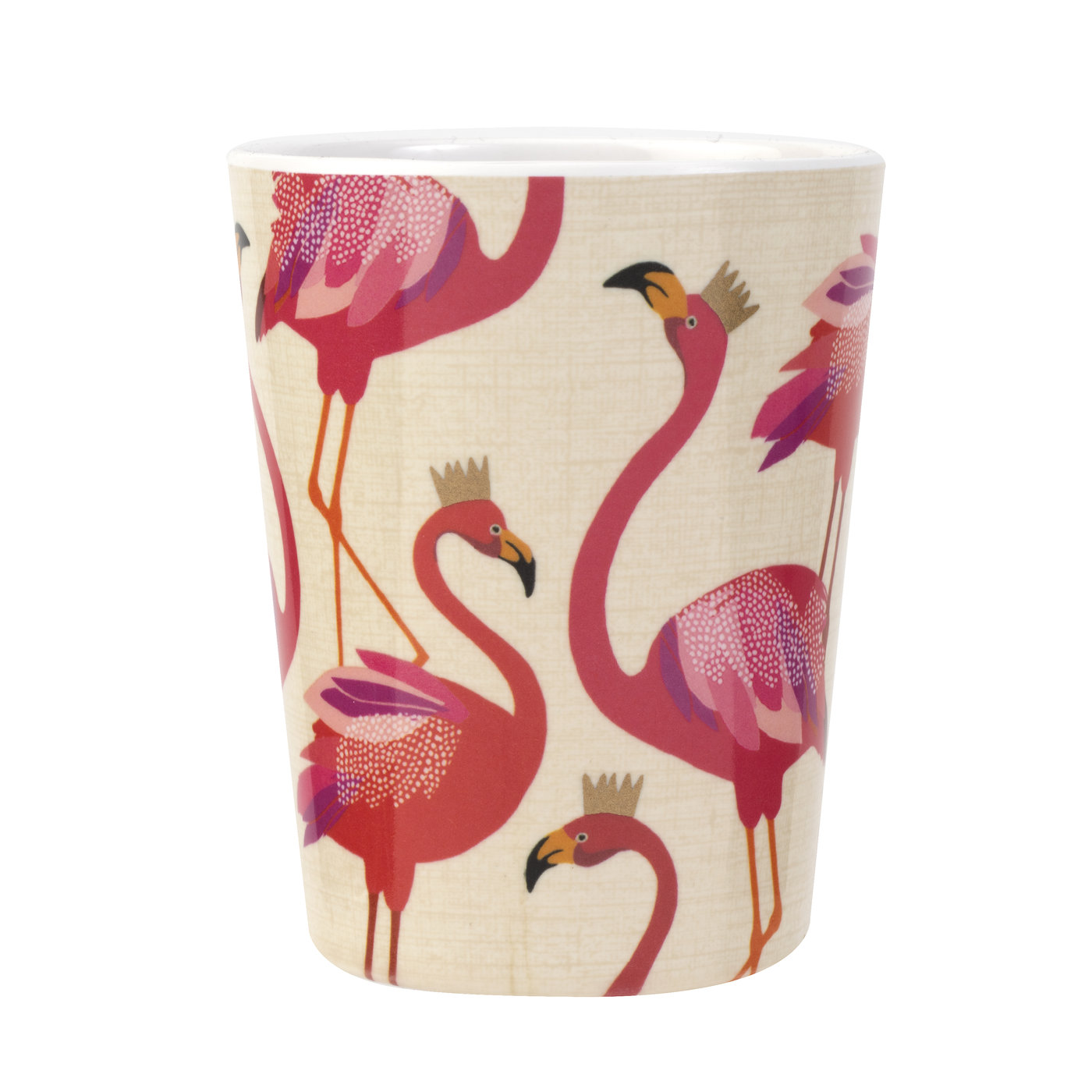 Sara Miller London Portmeirion Flamingo Melamine Cup