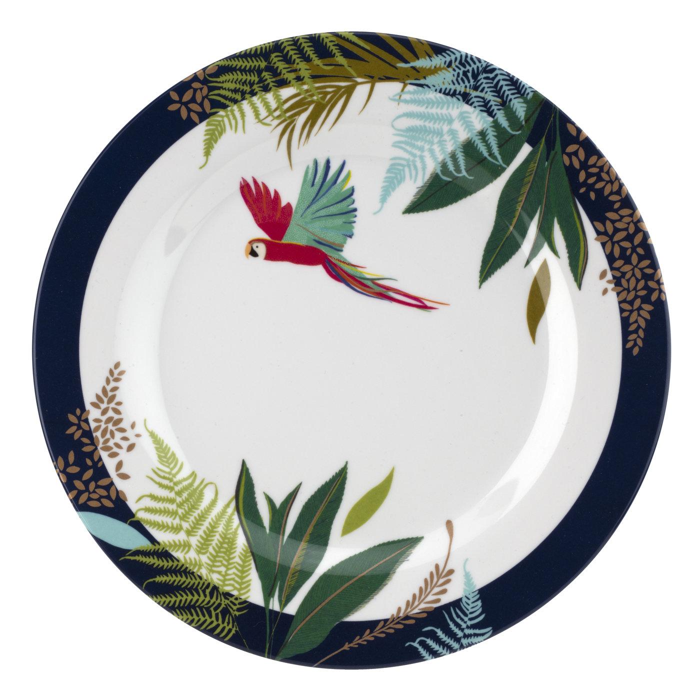 Sara Miller London Portmeirion The Parrot Melamine Bowl