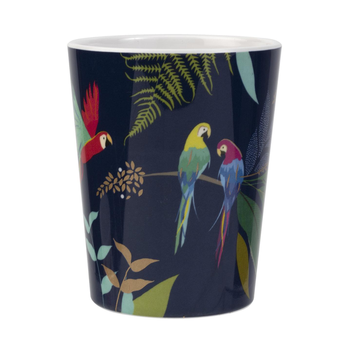 Sara Miller London Portmeirion The Parrot Melamine Cup