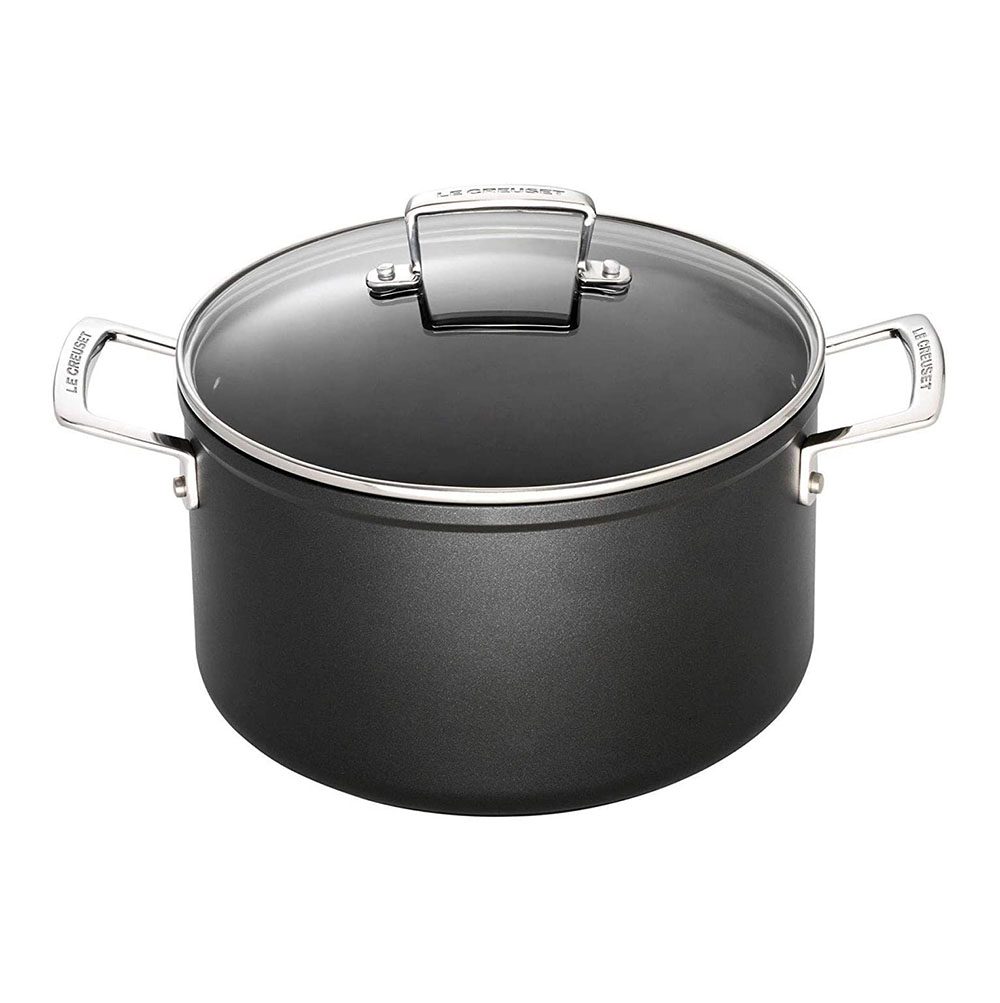 Le Creuset 24x13.3cm stockpot with Glass Lid