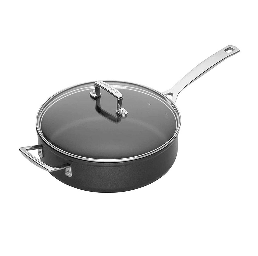 Le Creuset 51110260010302 26cm Saute Pan with Glass Lid