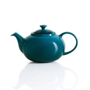 Le Creuset Deep Teal Stoneware Classic Teapot