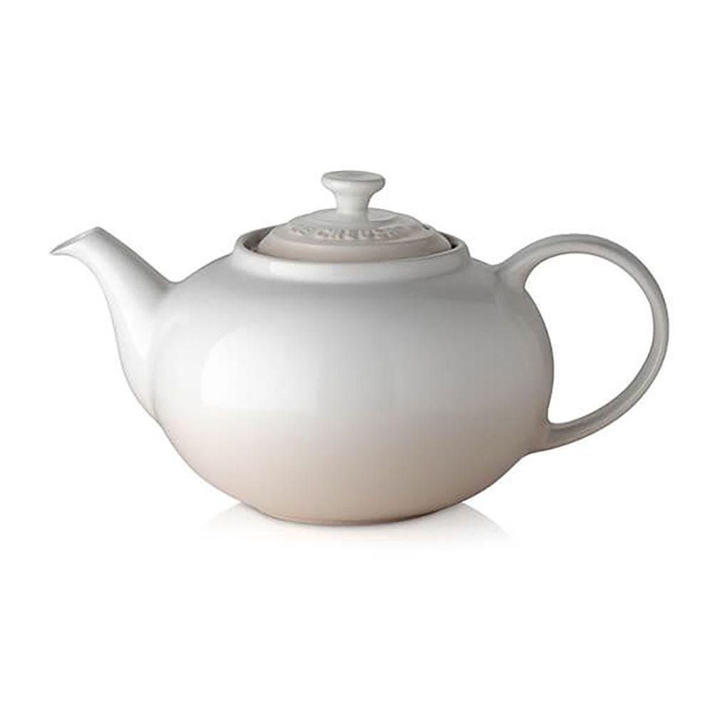 Le Creuset Meringue Stoneware Classic Teapot