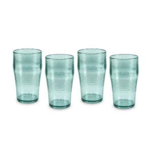 Fresco Reusable Beer Glasses Set of 4