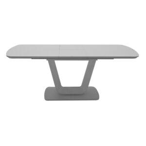 Lazio Dining Table 120/160 - Light Grey