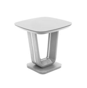 Lazio Lamp Table - Light Grey