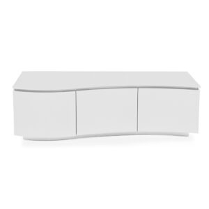 Lazio TV Cabinet - White Gloss
