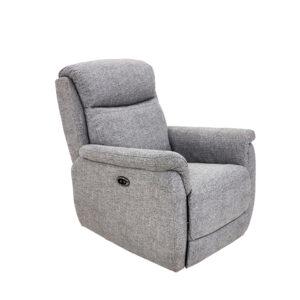 Kayden Fixed Chair - Fabric Grey