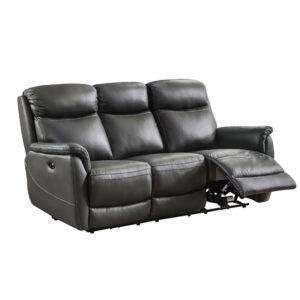 Kayden Fixed 3 Seater - Grey
