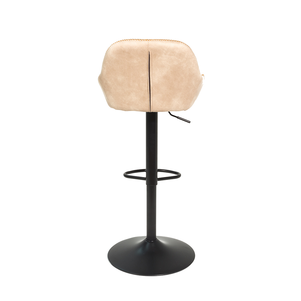 Royce Gas Lift Barstool - Oyster
