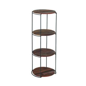 Kielder Round Rack with 4 Shelves