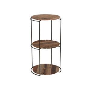 Kielder Round Rack with 3 Shelves