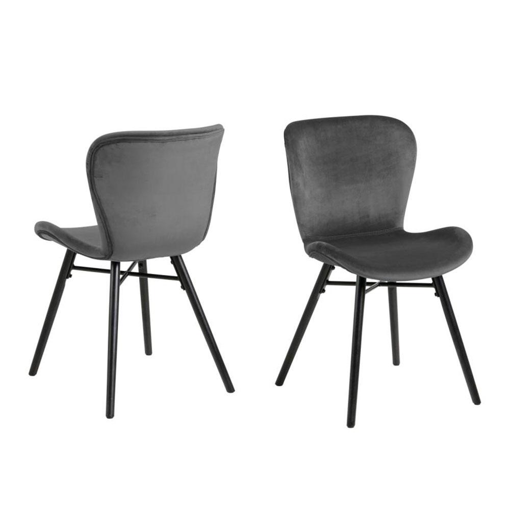 Bronte Dining Chair - Dark Grey