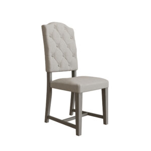 Farmhouse Buttoned Back Dining Chair