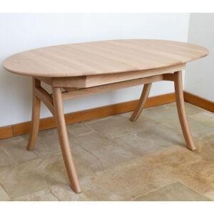 Albury 160/218 x 100cm Oval Extending Table