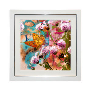 Gathering Nectar I 50 x 50 cm Picture