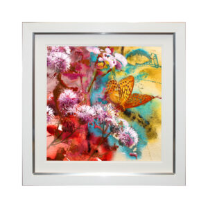 Gathering Nectar II 69 x 69 cm Picture