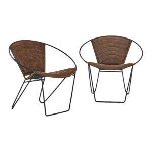 Cove Round Chair Tan