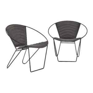 Cove Round Chair Grey