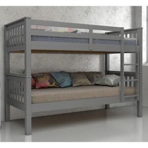 Maddox Bunk Bed 3ft Grey