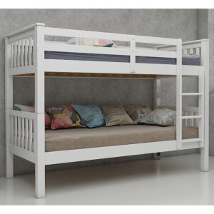 Maddox Bunk Bed 3ft White