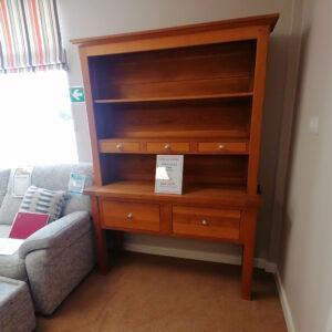 Solid Oiled Oak Dresser
