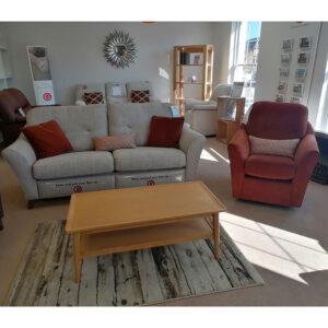 G Plan Hatton 3 Seater Sofa & Flint Chair