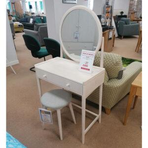 Ercol Salina Dressing Table + Stool + Mirror