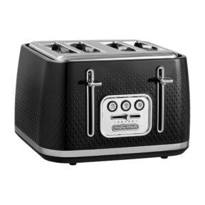 Morphy Richards Verve Toaster - Black