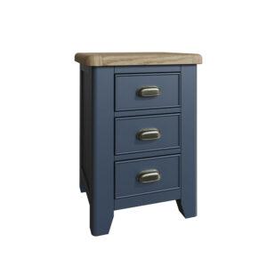 Heritage Blue Large Bedside Cabinet