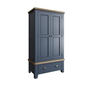Heritage Blue 2 Door Wardrobe