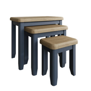 Heritage Blue Nest of 3 Tables