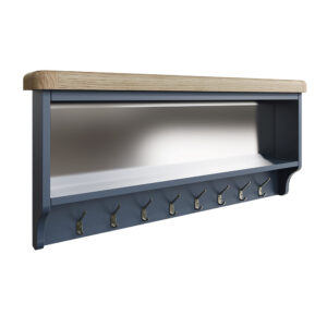 Heritage Blue Hall Bench Top