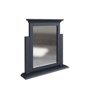 Whitby Midnight Grey Trinket Mirror