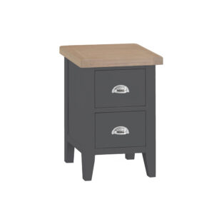 Henley Charcoal Small Bedside