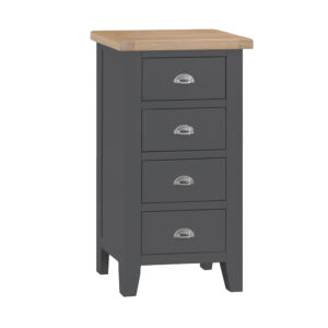Henley Charcoal 4 Drawer Narrow Chest