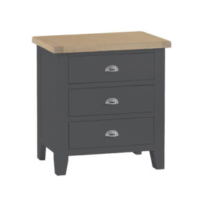 Henley Charcoal 3 Drawer Chest