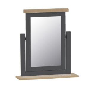 Henley Charcoal Trinket Mirror
