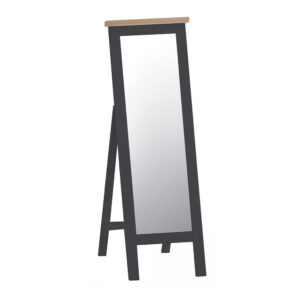 Henley Charcoal Cheval Mirror