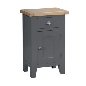 Henley Charcoal Small Cupboard