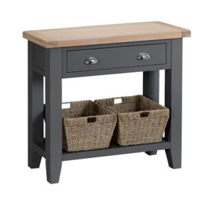 Henley Charcoal Console Table