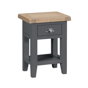 Henley Charcoal Side Table