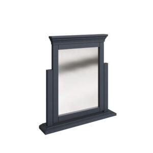 Croft Midnight Grey Trinket Mirror