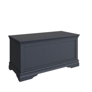 Croft Midnight Grey Blanket Box