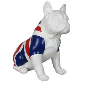 Union Jack Bulldog Statue