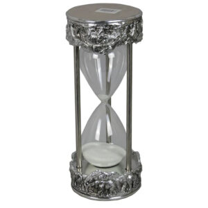 Silver Electroplated Elephant Sand Timer