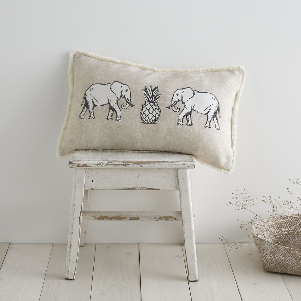 Pineapple Elephant Tembo 30 x 50 Cushion